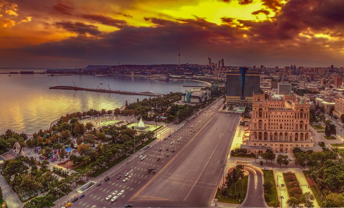 バクー_カスピ海/ Baku_Caspian Sea