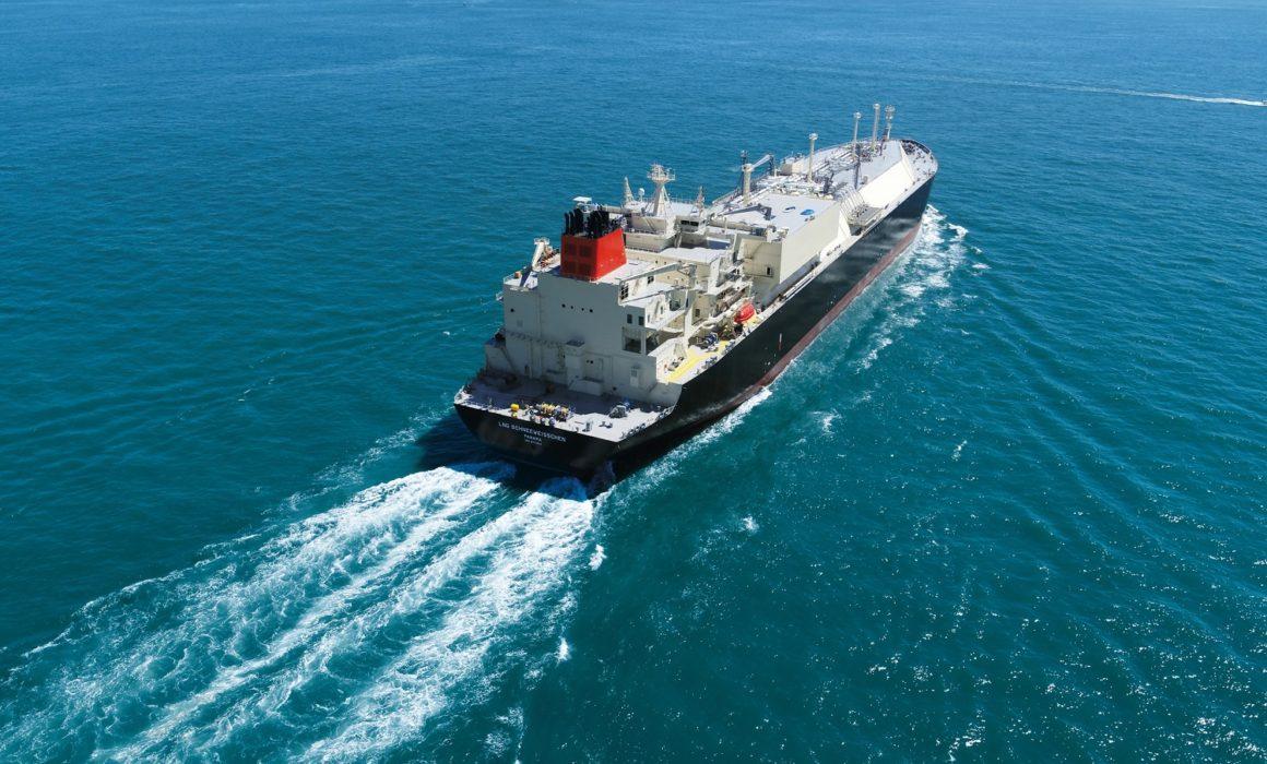 Copyright_Uniper_LNG ship Schneeweisschen