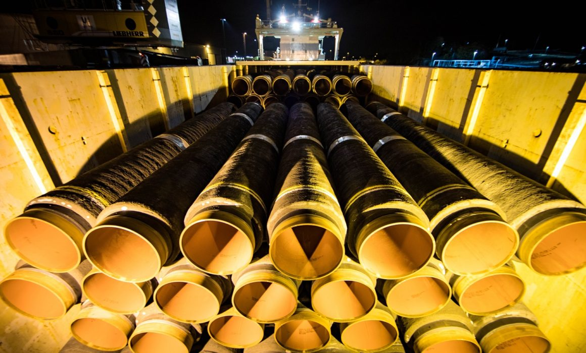 Copyright-Gazprom_パイプ-ノルドストリーム2/ Pipes for Nord Stream 2 Gas Pipeline